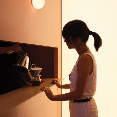 "Basic Coffee in Beijing is designed to be ""like a live advertisement"""
