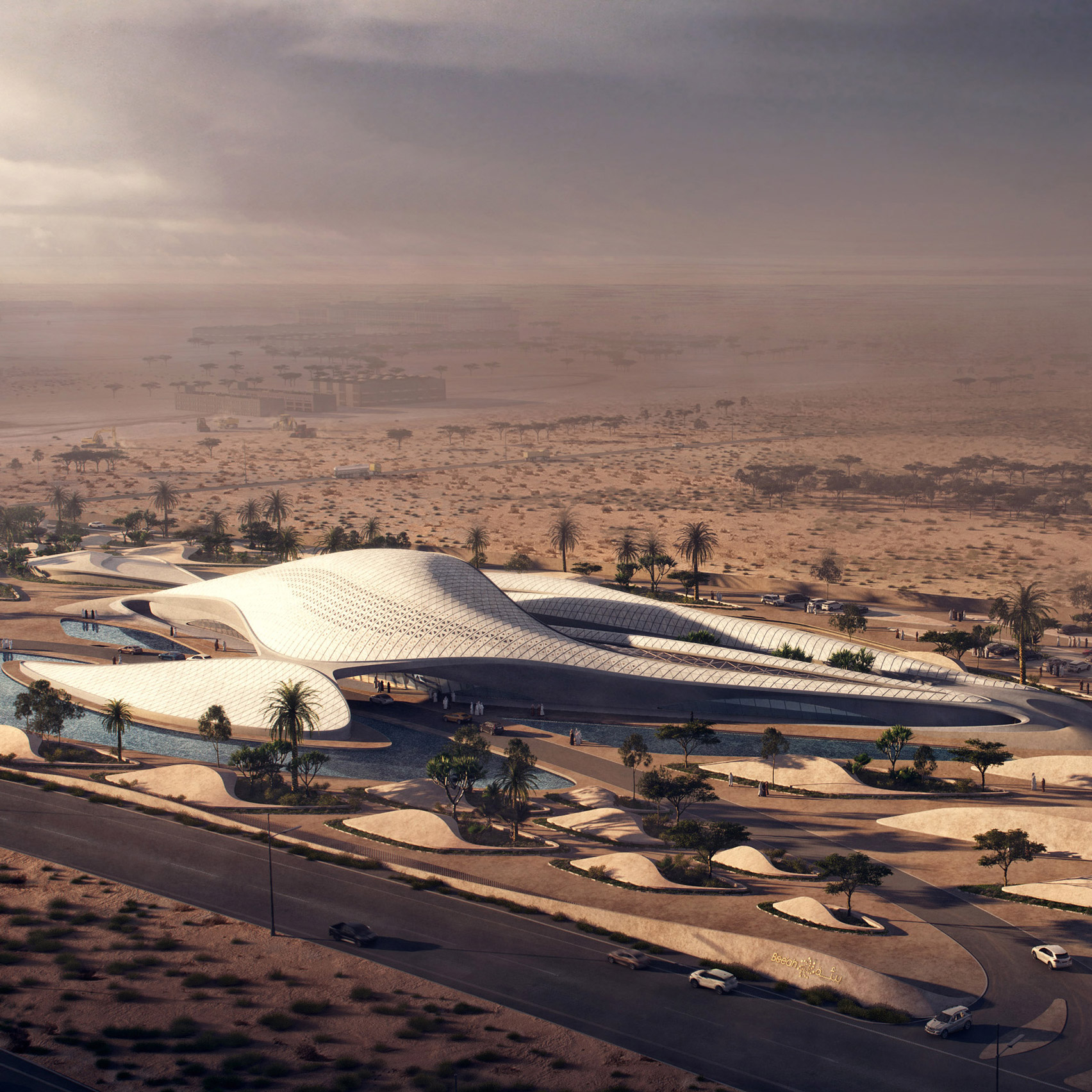 12 new buildings to look forward to in 2020: Bee'ah Headquarters by Zaha Hadid Architects