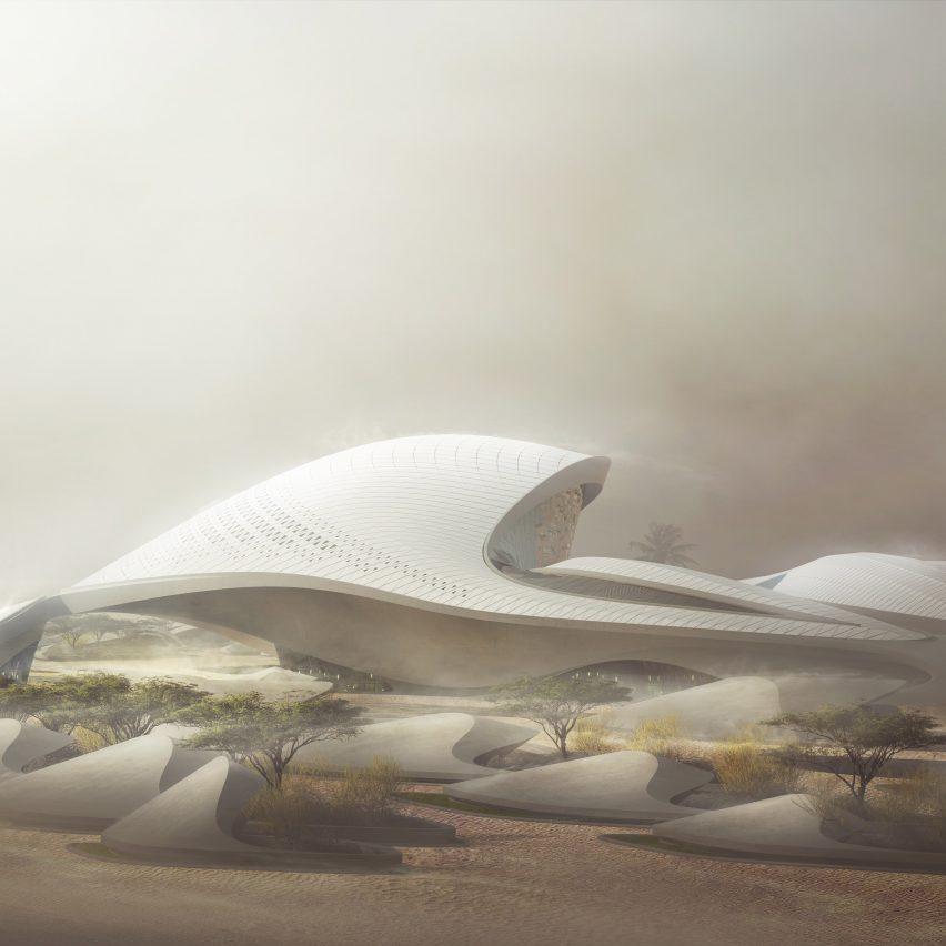 Bee'ah Headquarters by Zaha Hadid Architects