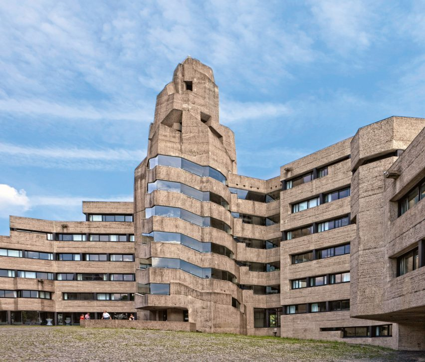 Breaking Ground: Architecture by Women: Bensberg Town Hall, Germany, 1967 by Elisabeth Böhm