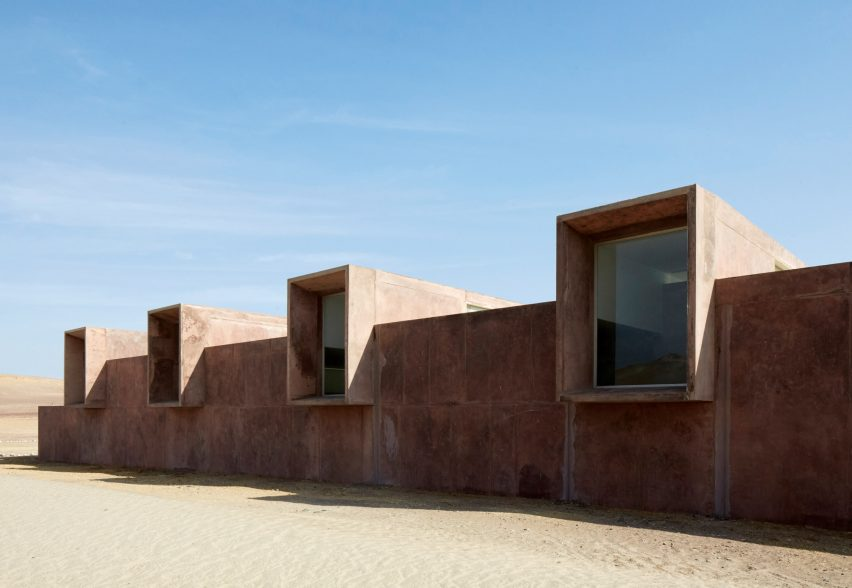 Breaking Ground: Architecture by Women: Paracas Museum, Peru, 2016 by Sandra Barclay