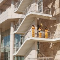"""Solange directs Getty Center performance to be """"extension of Richard Meier's architecture"""""""