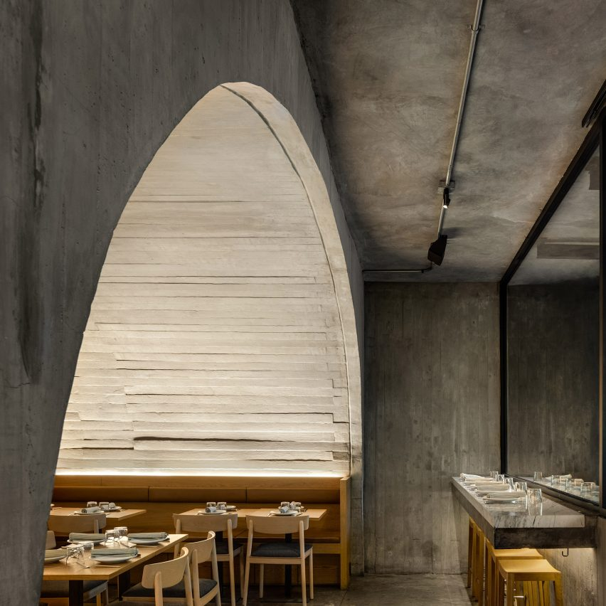 Sartoria restaurant by Taller Alonso de Garay
