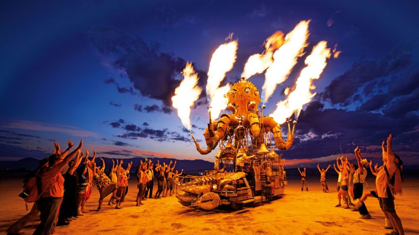 "Setting fire to artworks in the desert ""creates atmospheric pollution"" says Burning Man festival"