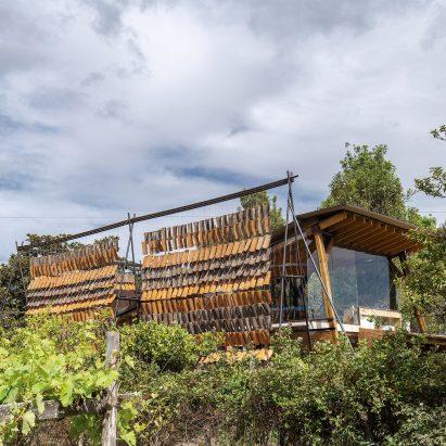 Casa de las Tejas Voladoras by Daniel Moreno Flores