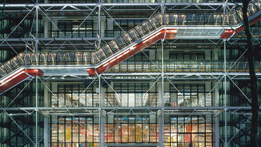 Centre Pompidou by Renzo Piano and Richard Rogers
