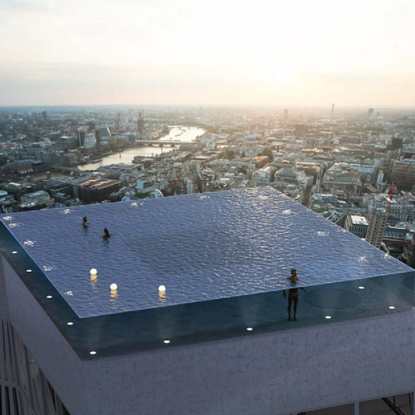 Infinity London 360 degree pool by Compass