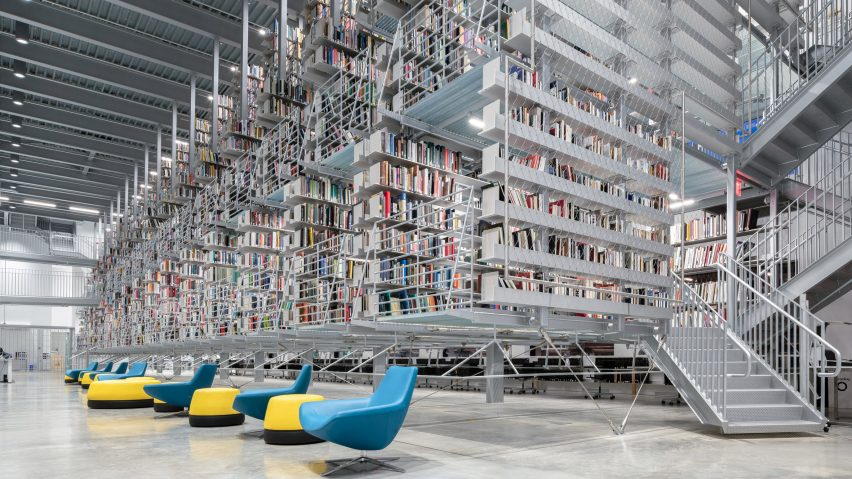 Cornell Fine Arts Library by Wolfgang Tschapeller