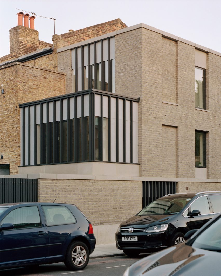 Corner House by 31/44 Architects rear