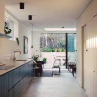 Corner House by 31/44 Architects kitchen