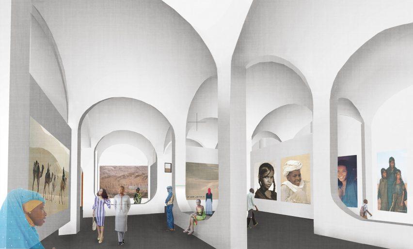 Niamey cultural centre by Mariam Kamara's studio Atelier Masomi in Niger