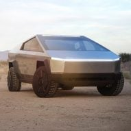 Cybertruck Tesla electric pickup truck