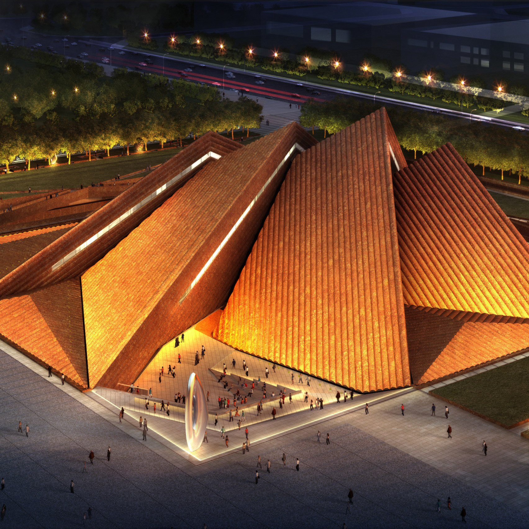 12 new buildings to look forward to in 2020: Datong Art Museum by Foster + Partners