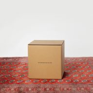 Savannah design studio reimagines cardboard box as chair