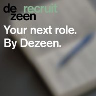 Five exciting job opportunities available via Dezeen Recruit