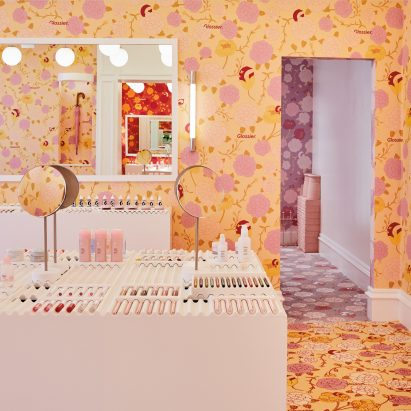 Glossier pop-up shop on London's Floral Street