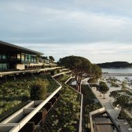 Planted terraces overlook the sea at the Grand Park Hotel by 3LHD