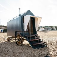 Haeckels' Victorian bathing machine warms up winter seaside dippers
