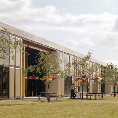 Herman Miller Factory in Bath by Grimshaw Farrell Partnership