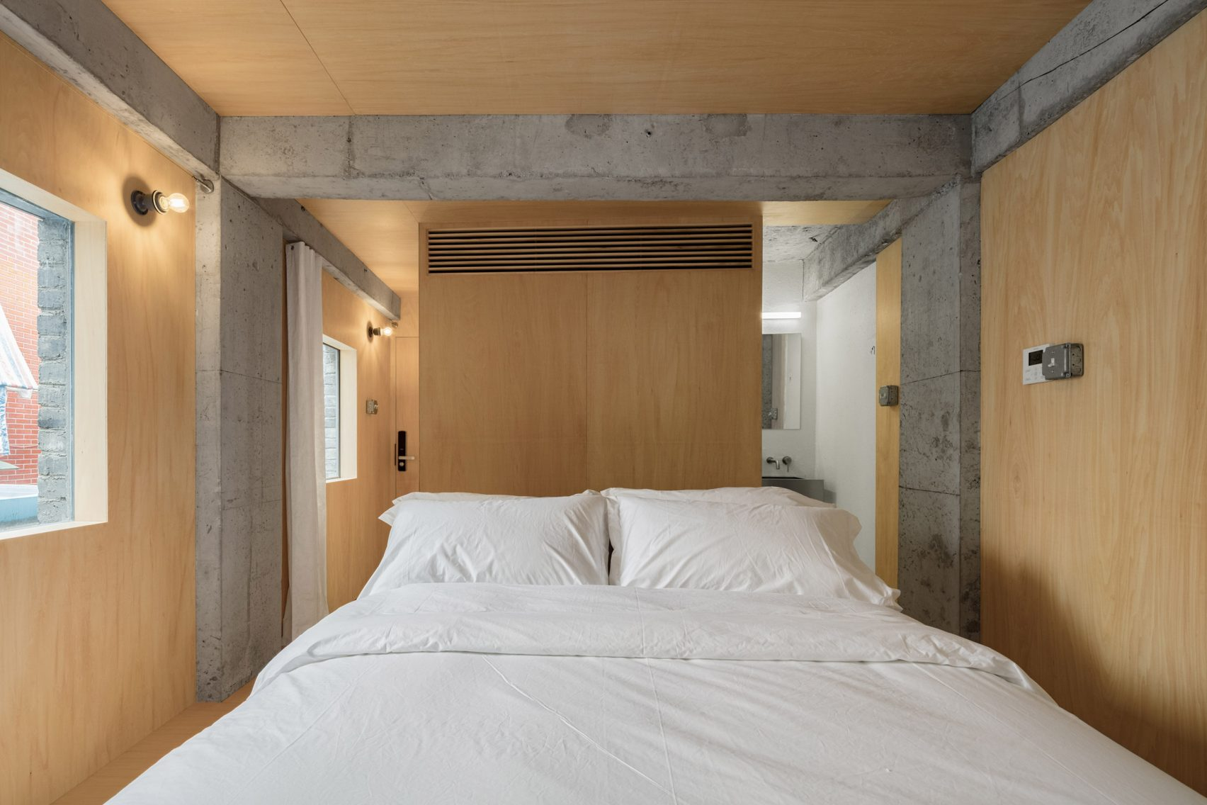 Hotel Far&Near XinYuqingli St by Kooo Architects in China