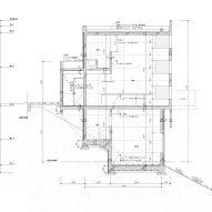 Section of House in Ajina by Kazunori Fujimoto Architects & Associates