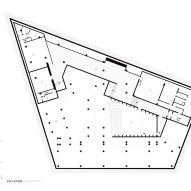 Basement floor plan of Huandou School by Trace Architecture Office TAO