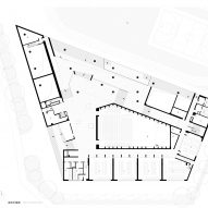 Ground floor plan of Huandou School by Trace Architecture Office TAO in Haikou China