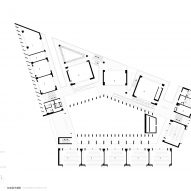 Standard floor plan of Huandou School by Trace Architecture Office TAO