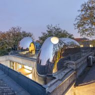 "Hutong Bubble 218 by MAD gives ""new life"" to ageing Beijing hutong"