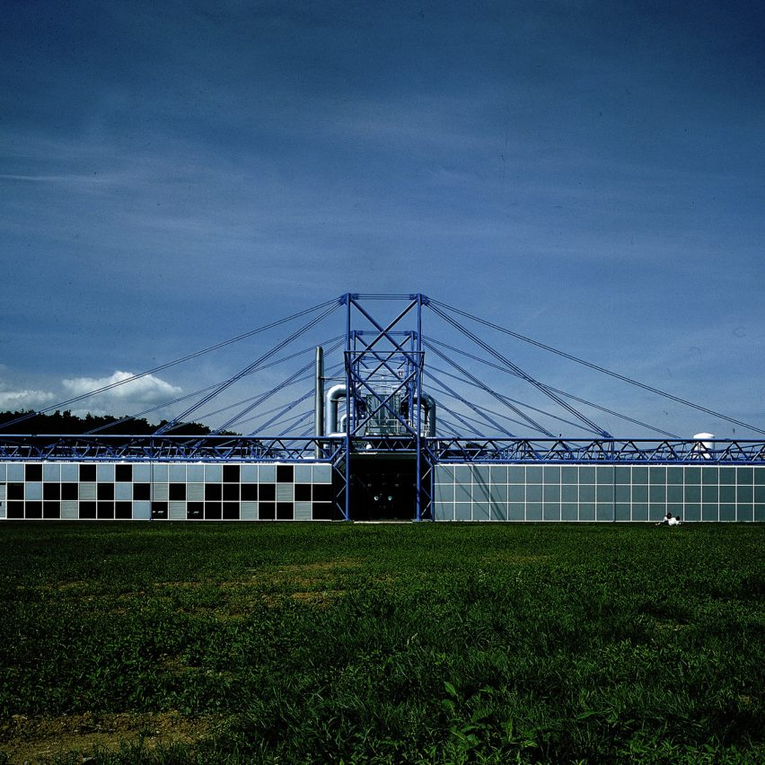 Richard Rogers top 10 architecture projects: Inmos Microprocessor Factory in Wales by Richard Rogers