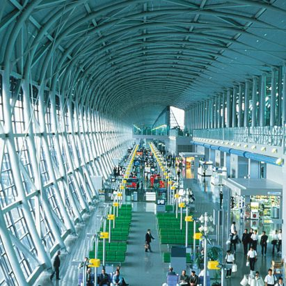 High-tech architecture: Kansai International Airport by Renzo Piano