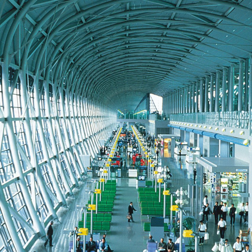 High-tech architecture from A to Z: Kansai International Airport by Renzo Piano