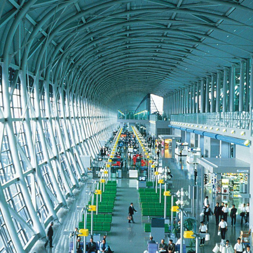 High-tech buildings: Kansai International Airport by Renzo Piano