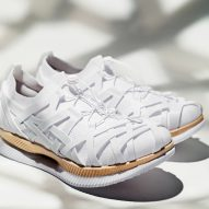 Kengo Kuma designs his first ever trainer for Asics
