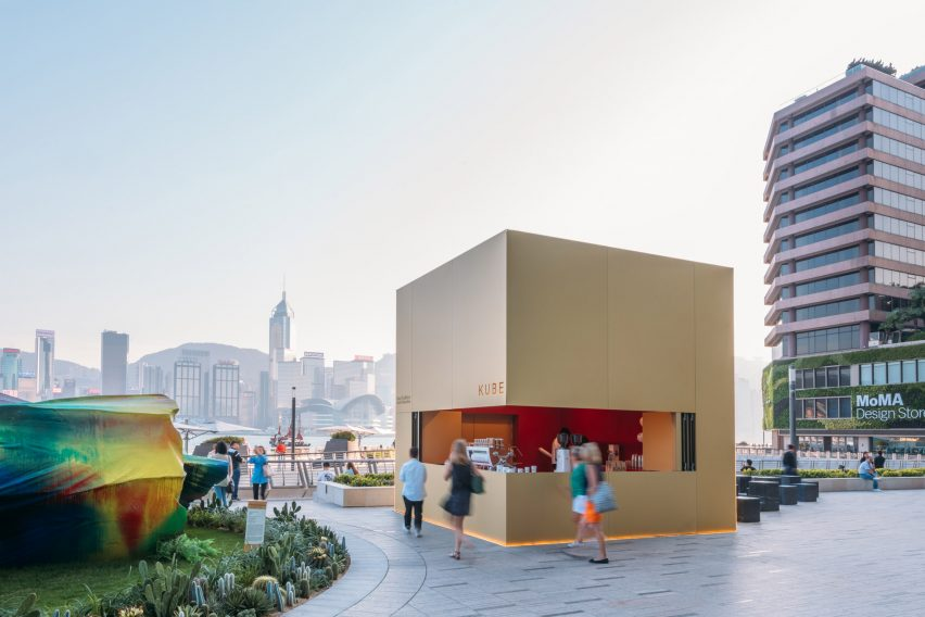 Kube by OMA at K11 Musea in Hong Kong