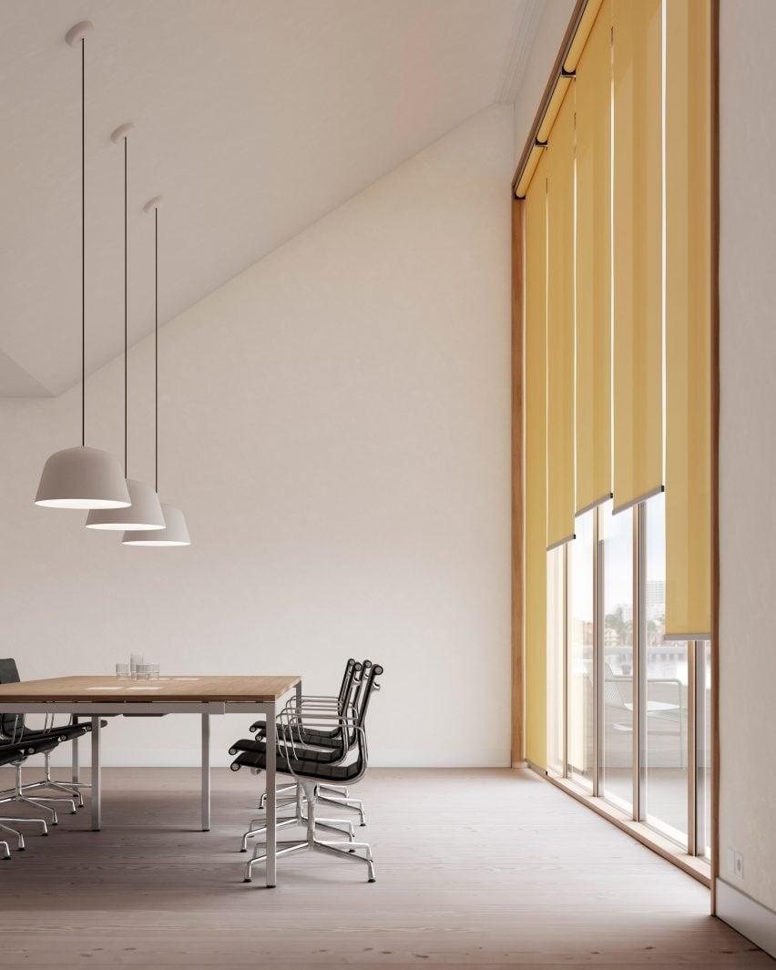 Ronan & Erwan Bouroullec ronan and erwan bouroullec design kvadrat shade roller blind