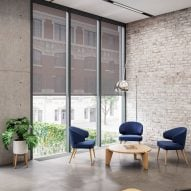 Kvadrat Shade roller blind by Ronan and Erwan Bouroullec