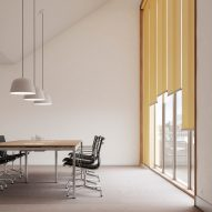 Kvadrat launches roller blind that can reduce a building's energy consumption