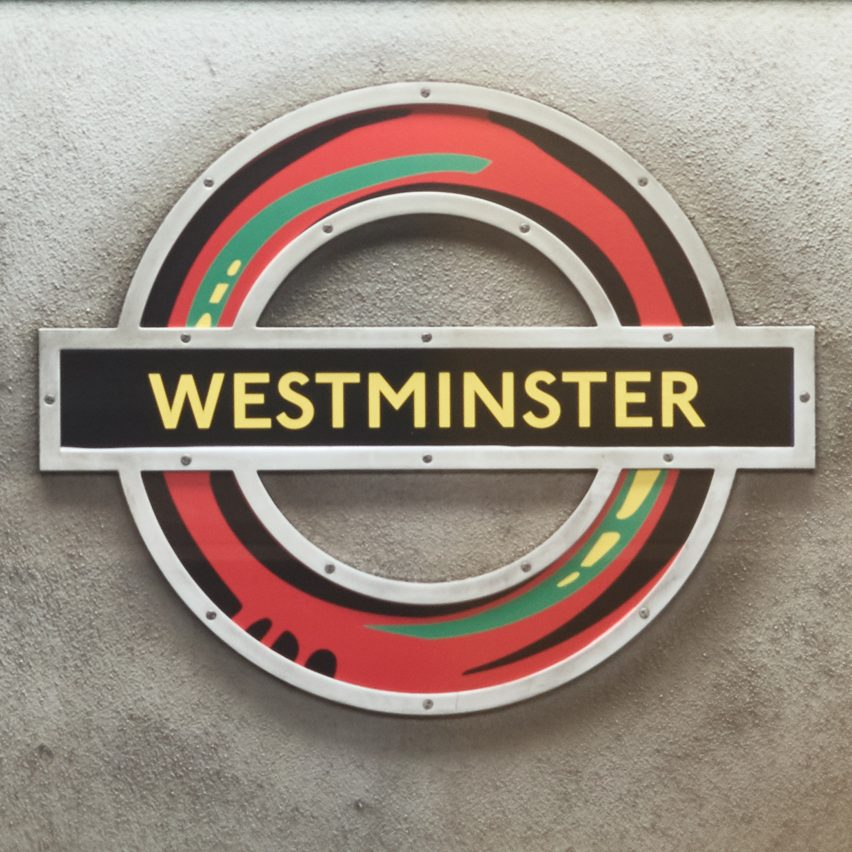 Larry Achiampong overhauls London's tube roundel with pan-African designs