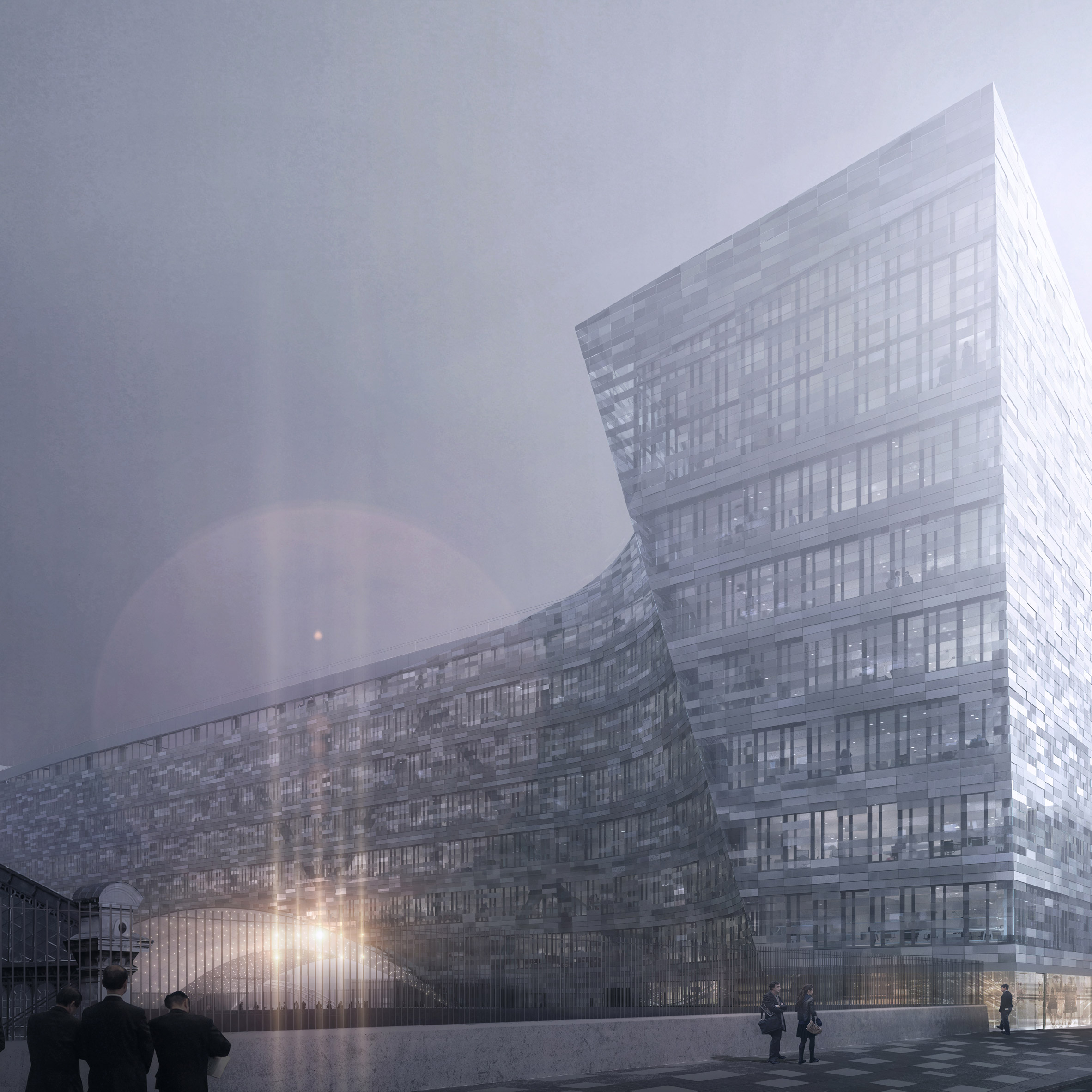 12 new buildings to look forward to in 2020: Le Monde by Snøhetta