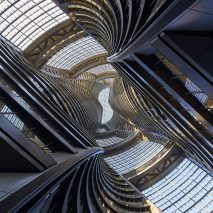 Leeza Soho tower by Zaha Hadid Architects in Beijing, China