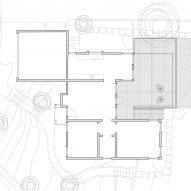 Mount Washington Studio by FAR First Floor Plan