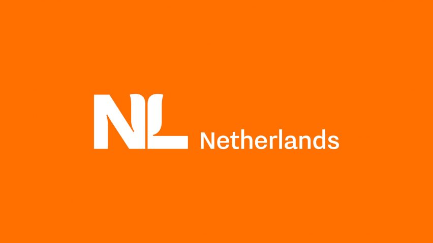 Rebranded Netherlands NL logo by Studio Dumbar