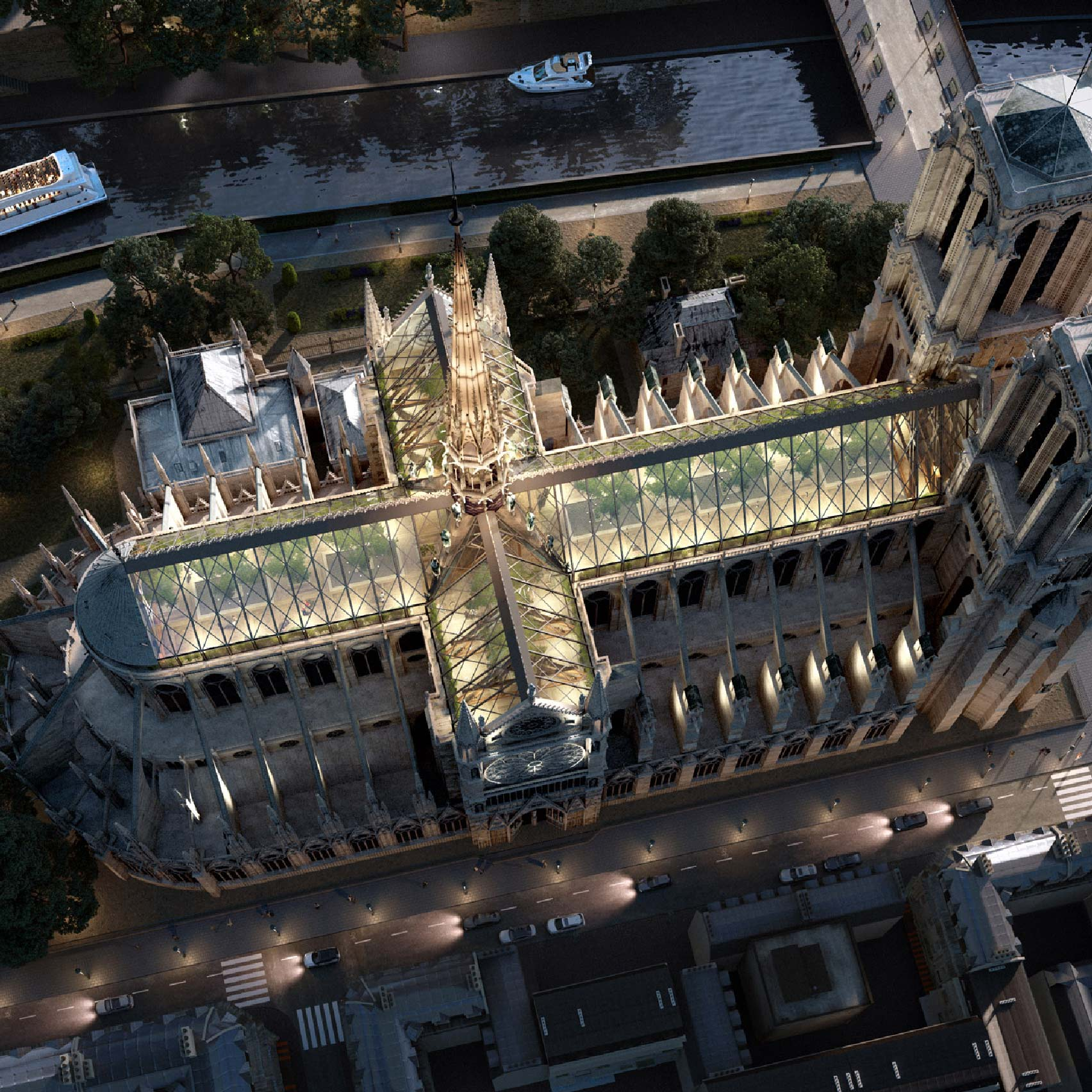 Notre-Dame proposal by Miysis Studio