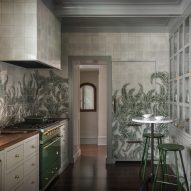 """Jessica Helgerson uses """"moody, green, lush"""" palette for Portland home renovation"""