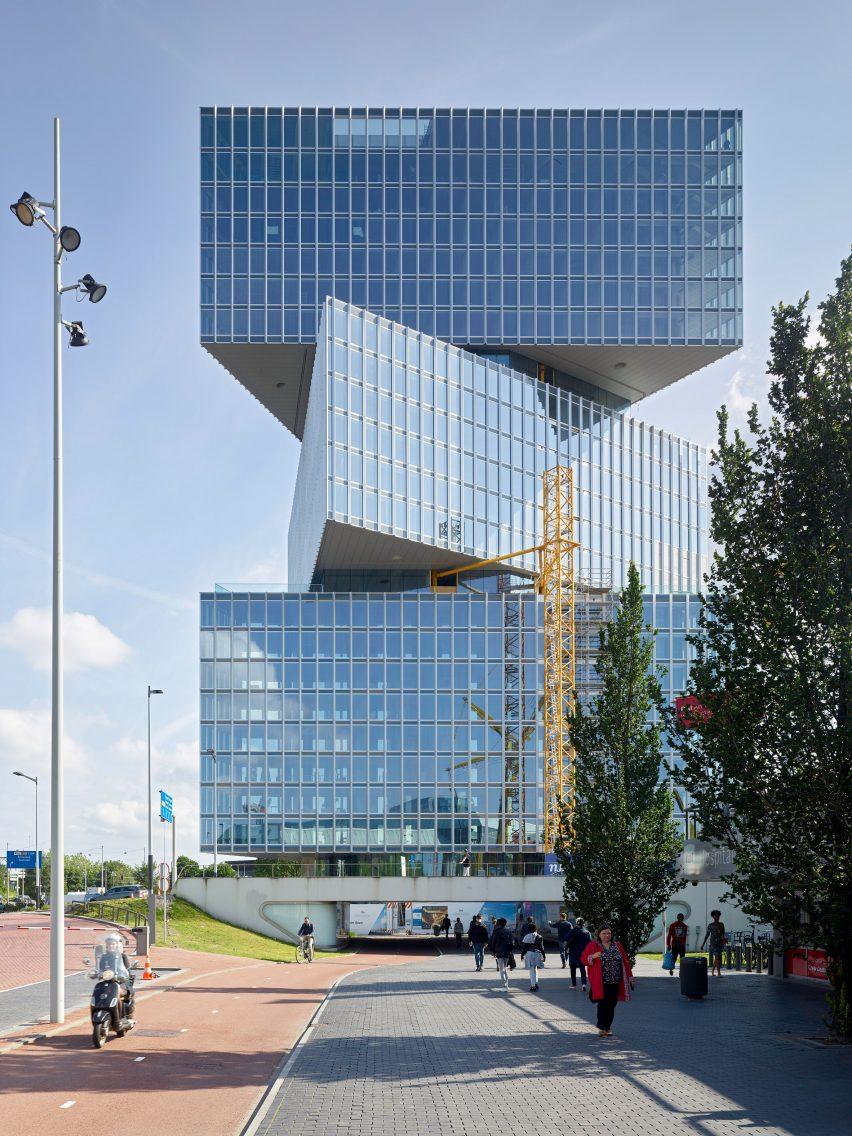 Nhow Amsterdam RAI Hotel in AmsterdambyOMA
