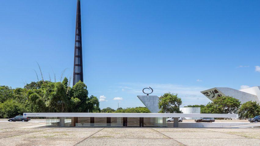 Oscar Niemeyer's Tea House in Brasília gets refresh by Bloco Arquitetos and Equipe Lamas