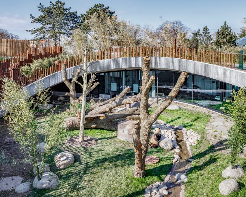 Panda House by BIG at Copenhagen Zoo