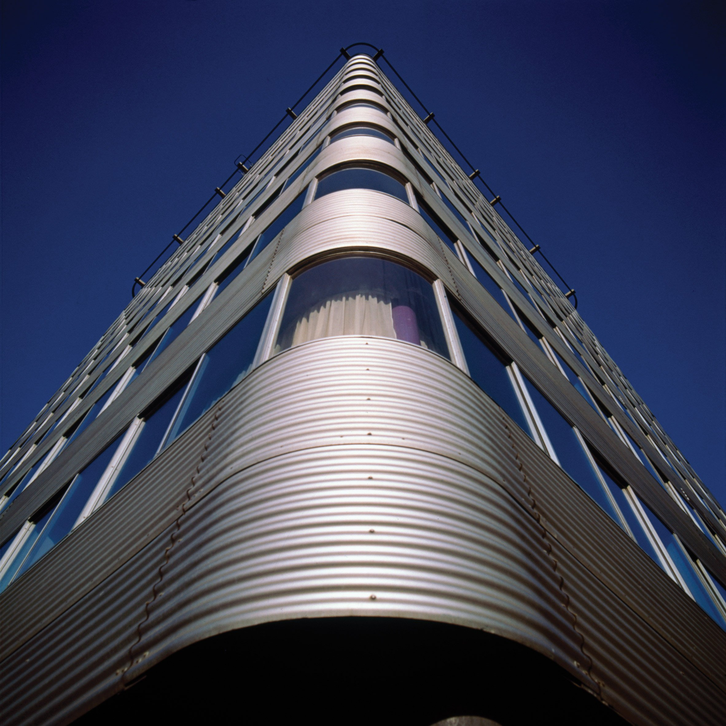 High-tech buildings: Park Road Apartments by Grimshaw Architects