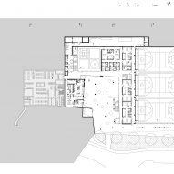 Basement floor plan of Pazdigrad Primary School by x3m
